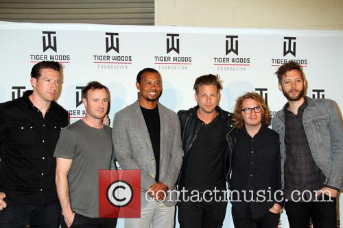 Tiger Woods and One Republic 8