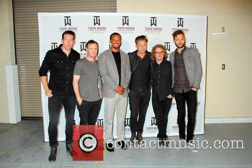 Tiger Woods and One Republic 9