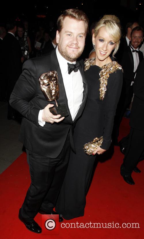 James Corden Julia Carey BAFTAs