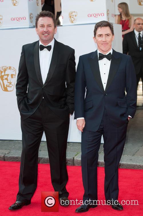 Lee Mack and Rob Brydon 9
