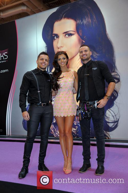 Lucy Mecklenburgh attends Beauty 2014 held at the...