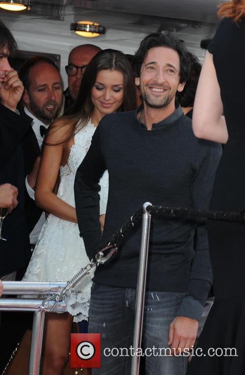 Adrien Brody and Lara Lieto 5