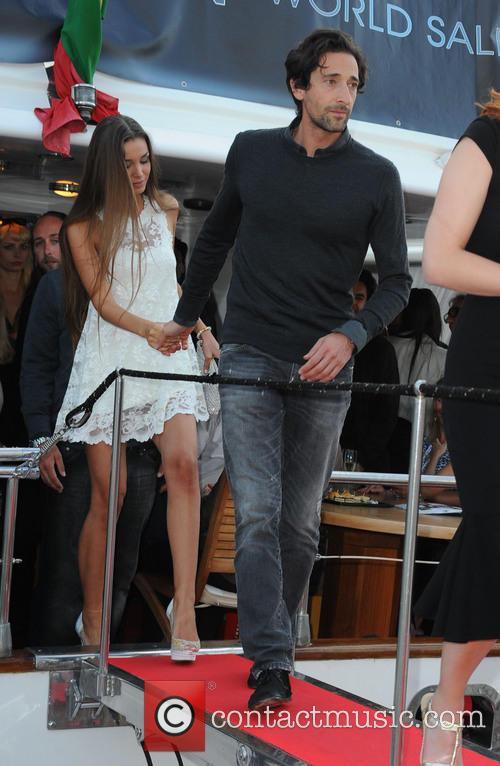Adrien Brody, Lara Lieto, Cannes Film Festival