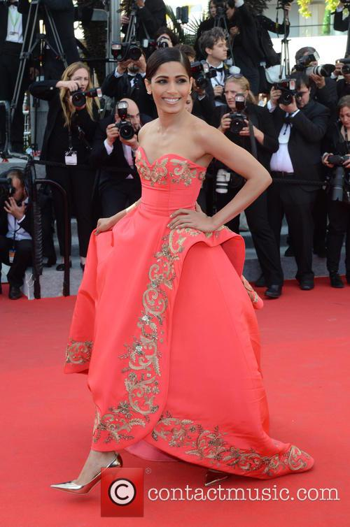 FRIEDA PINTO, Cannes Film Festival