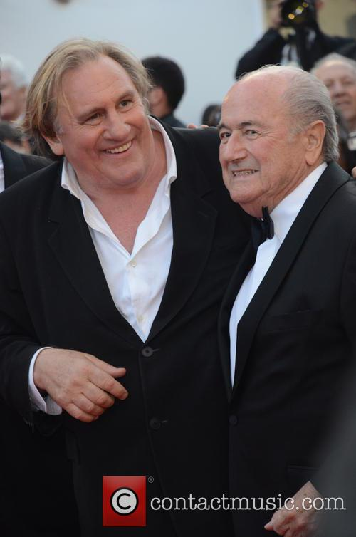 Gerard Depardieu and Sep Blatter 10