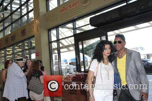 Halima Jackson and Jermaine Jackson 1