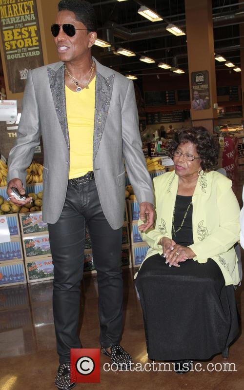 Jermaine Jackson and Katherine Jackson 5