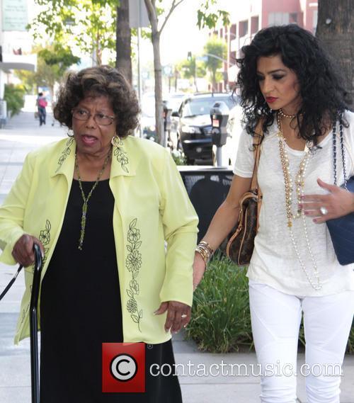 Katherine Jackson and Halima Jackson 2