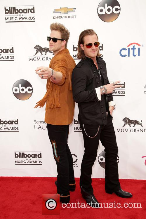 Brian Kelley, Tyler Hubbard and Florida Georgia Line 5
