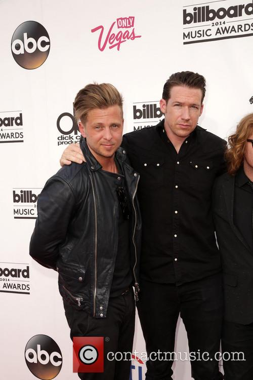 Ryan Tedder, Zach Filkins and Onerepublic 4