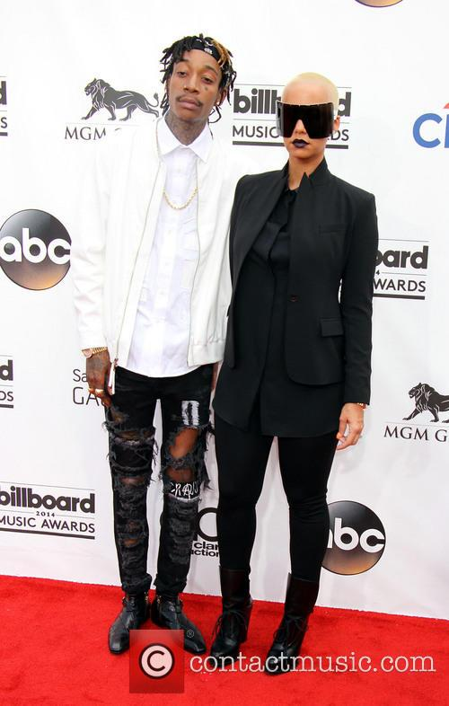 Wiz Khalifa and Amber Rose 2