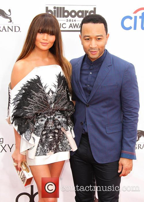 Christine Teigen and John Legend 4