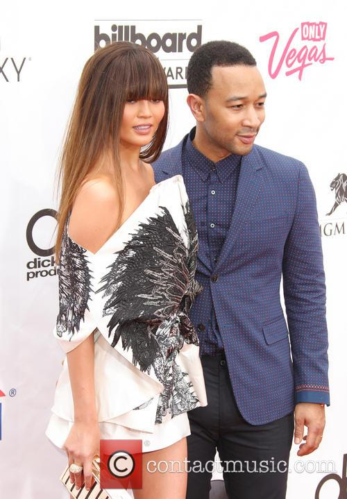 Christine Teigen and John Legend 9