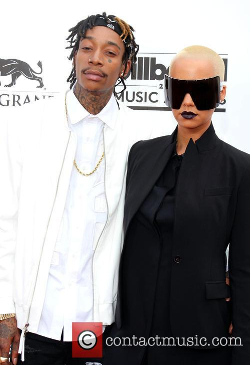 Wiz Khalfia and Amber Rose
