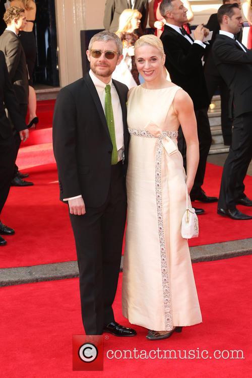 Martin Freeman and Amanda Abbington 2