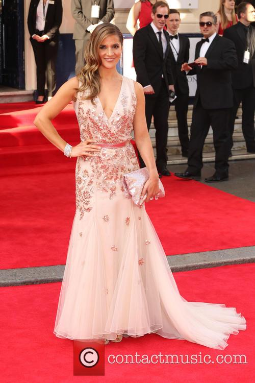 amanda byram the tv bafta awards 2014 4202458