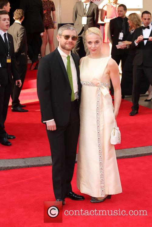 Martin Freeman and Amanda Abbington 4