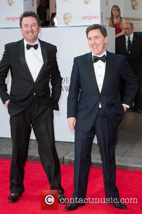 Lee Mack and Rob Brydon