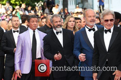 Sylvester Stallone, Mel Gibson, Kelsey Grammer and Harrison Ford 3