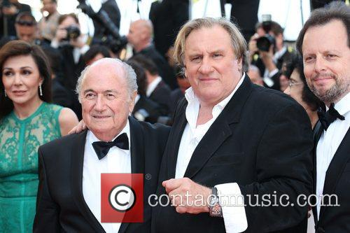 Gerard Depardieu and Sepp Blatter 3
