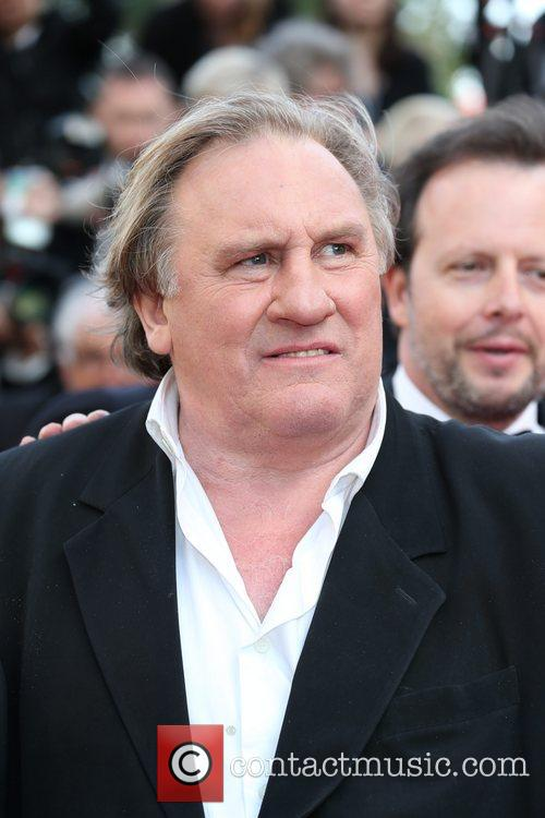 Gerard Depardieu at the 2014 Cannes Film Festival.
