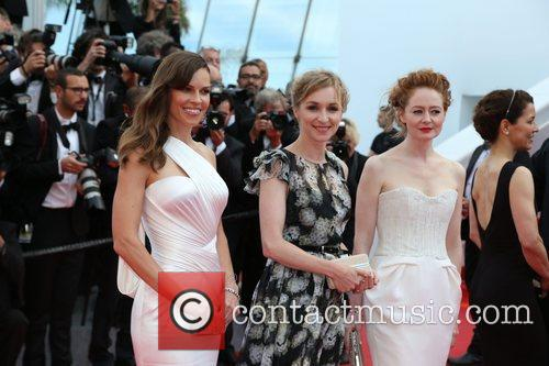 Hilary Swank, Sonja Richter and Miranda Otto 10
