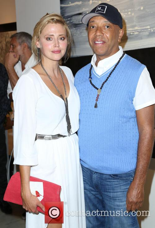 Estella Warren and Russell Simmon 2