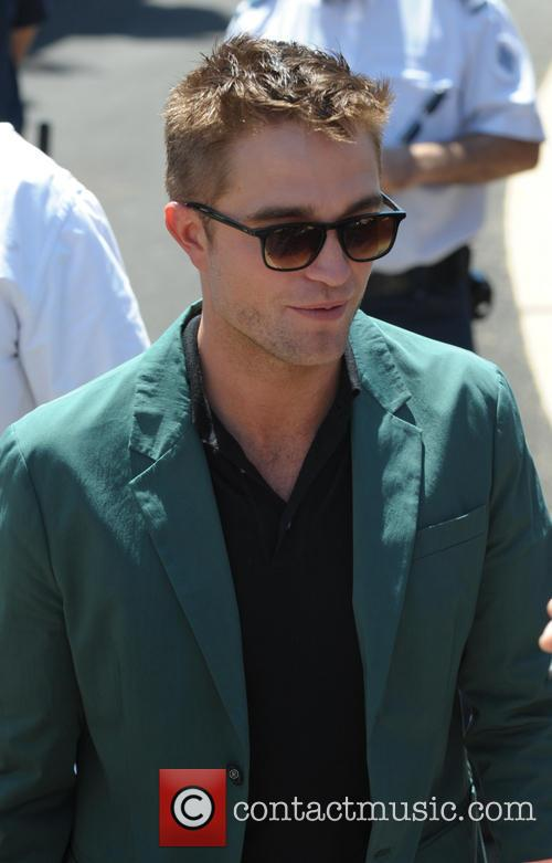 Robert Pattinson arriving at The Rover Photocall