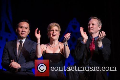 Bd Wong, Carey Perloff and Bill Irwin