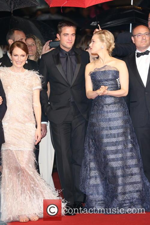 Julianne Moore, Robert Pattinson and Sarah Gadon