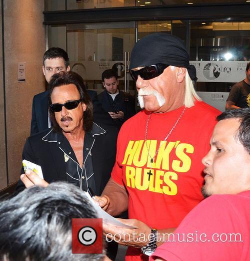 Hulk Hogan At BBC Radio 1 Studios