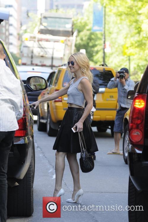Kate Hudson leaving her hotel