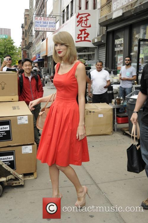 Taylor Swift out and about in Manhattan