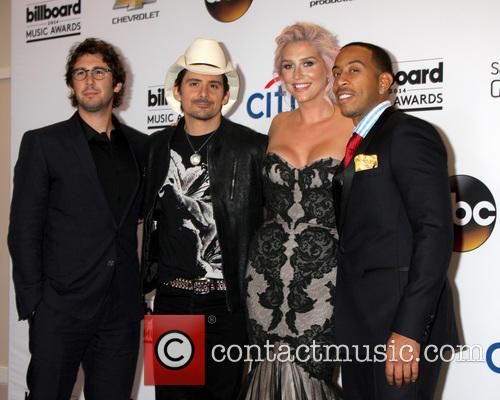 Josh Groban, Brad Paisley, Kesha, Ludacris and Chris Bridges 2