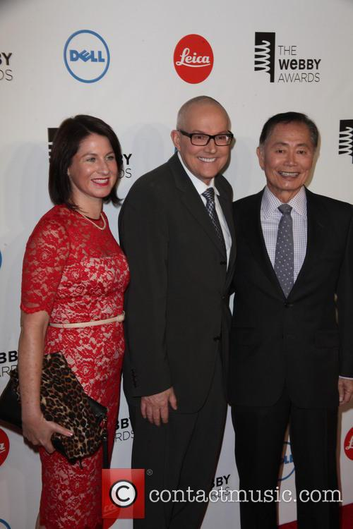 brad altman george takei guests 2014 the webby awards 4205431