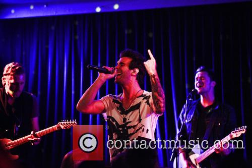 American Authors perform live