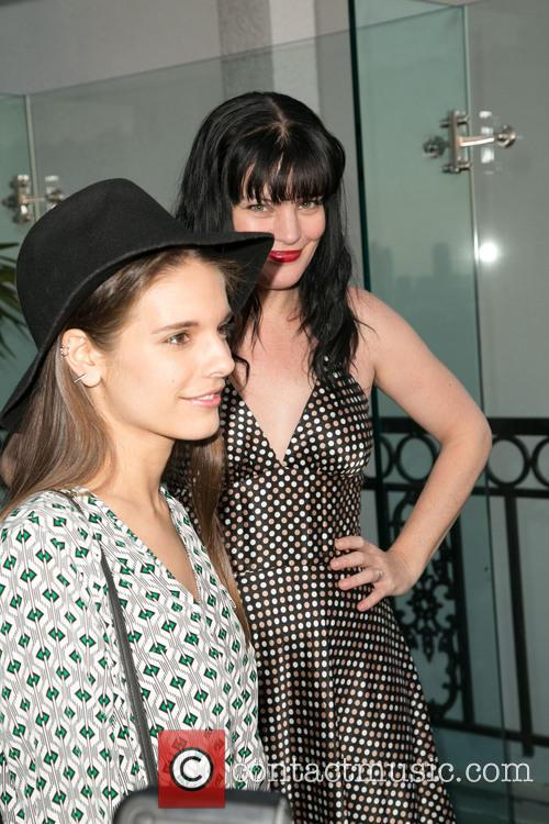 Caitlin Stasey and Pauley Perrette 2