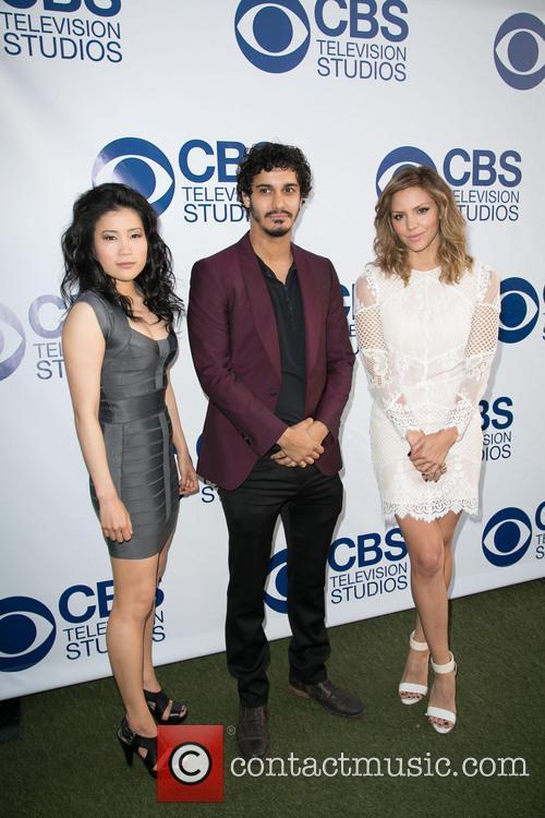 Elyes Gabel, Jadyn Wong and Katherine Mcphee
