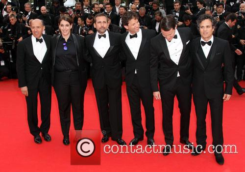 Jon Kilik, Megan Ellison, Mark Ruffalo, Channing Tatum, Bennett Miller and Steve Carell