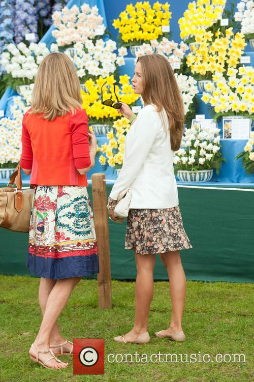kim sears chelsea flower show vip and 4203374