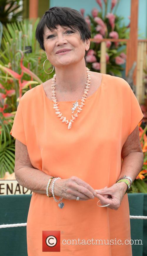 sandie shaw chelsea flower show vip and 4203852
