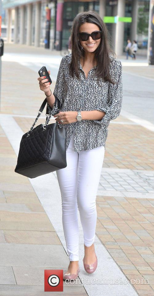 Michelle Keegan at Media City Manchester