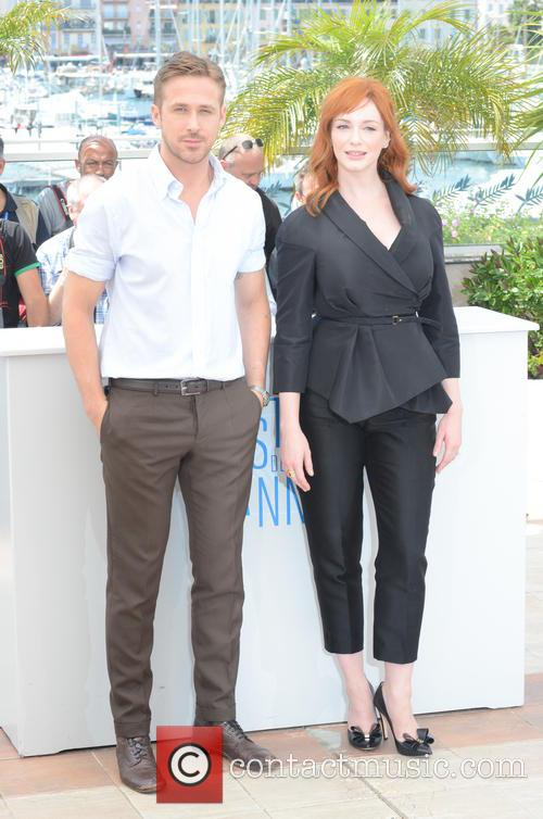 Ryan Gosling and Christina Hendricks 4