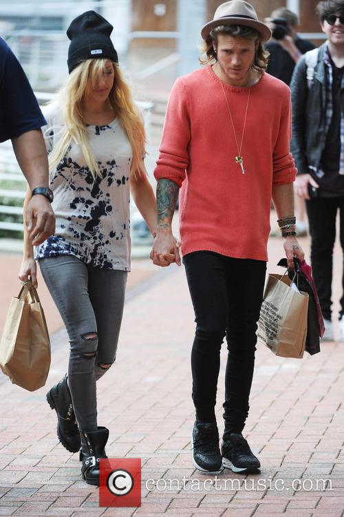 Ellie Goulding and Dougie Poynter 5