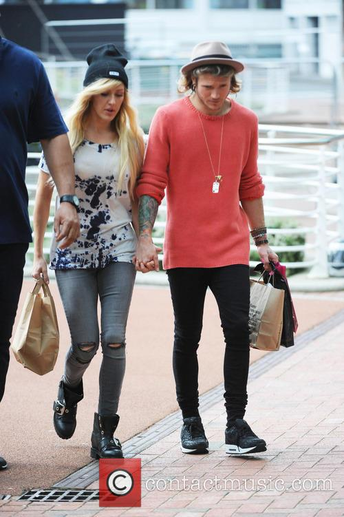 Ellie Goulding and Dougie Poynter 6