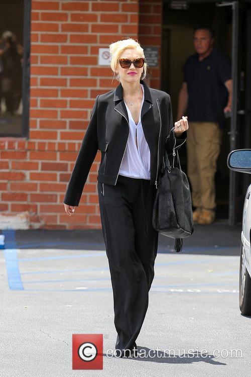 Gwen Stefani At Medical Center