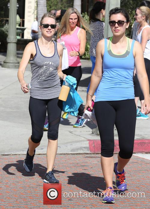 Naomi Watts Leaves Spinning Class