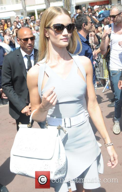 Rosie Huntington Whiteley at the Magnum Beach