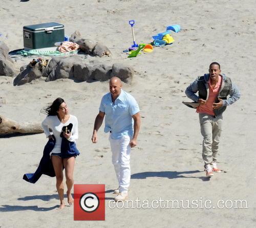 Vin Diesel, Michelle Rodriguez and Ludacris