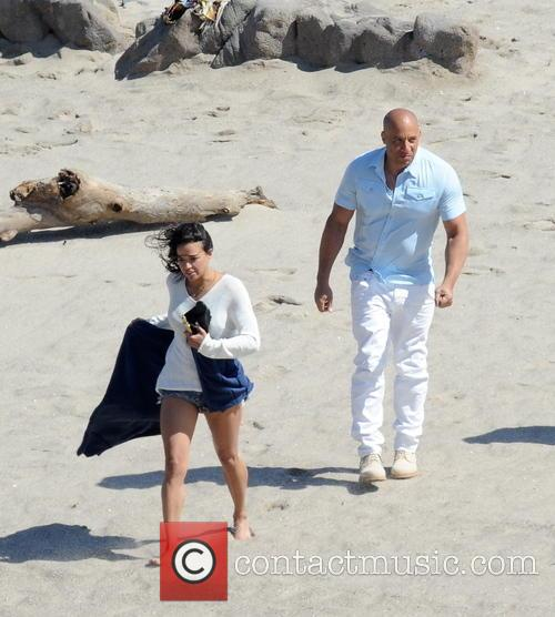 Vin Diesel and Michelle Rodriguez 9